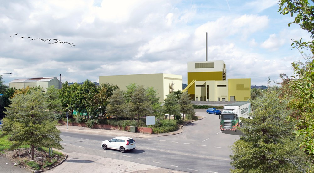 Templeborough Biomass Plant - 3d view